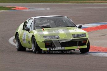© Octane Photographic Ltd. HSCC Donington Park 17th March 2012. 70's Road Sports Championship. Mark Bennett - Renault Alpine A310. Digital ref : 0239lw7d4249