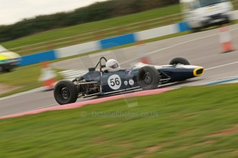© Octane Photographic Ltd. HSCC Donington Park 17th March 2012. Classic Racing Cars. Rachel Arnold - Merlyn Mk20. Digital ref : 0244cb1d7808