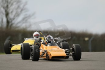 © Octane Photographic Ltd. HSCC Donington Park 17th March 2012. Classic Racing Cars. Digital ref : 0244cb7d4789