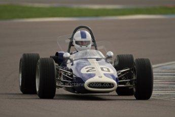 © Octane Photographic Ltd. HSCC Donington Park 17th March 2012. Classic Racing Cars. Mike Freeman - Brabham BT14. Digital ref : 0244cb7d4880