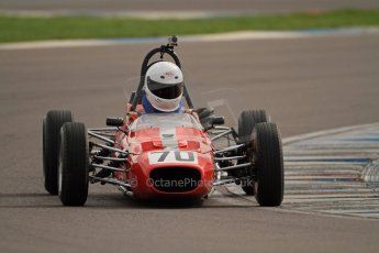© Octane Photographic Ltd. HSCC Donington Park 17th March 2012. Classic Racing Cars. Jonathan Baines - Merlyn Mk20. Digital ref : 0244cb7d4899