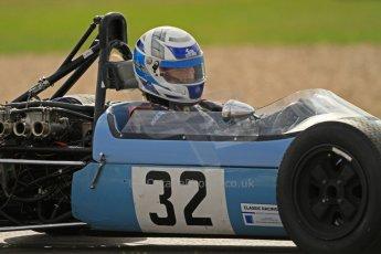 © Octane Photographic Ltd. HSCC Donington Park 17th March 2012. Classic Racing Cars. Julian Judd - Jovis. Digital ref : 0244cb7d5184