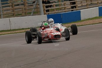 © Octane Photographic Ltd. HSCC Donington Park 17th March 2012. Classic Racing Cars. Samuel Mitchell - Merlyn Mk20. Digital ref :  0244lw7d7417