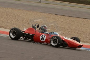 © Octane Photographic Ltd. HSCC Donington Park 17th March 2012. Classic Racing Cars. René Ligonnet - Chevron B15. Digital ref : 0244lw7d7779