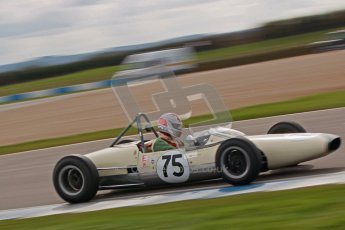 © Octane Photographic Ltd. HSCC Donington Park 17th March 2012. Historic Formula Junior Championship (Rear engine).. Pete Morton - Lightning Envoyette. Digital ref : 0243cb1d7444
