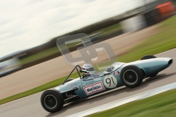 © Octane Photographic Ltd. HSCC Donington Park 17th March 2012. Historic Formula Junior Championship (Rear engine).. Jonathon Hughes - Brabham BT6. Digital ref : 0243cb1d7449
