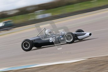 © Octane Photographic Ltd. HSCC Donington Park 17th March 2012. Historic Formula Junior Championship (Rear engine).. Steve Jones - Cooper T67. Digital ref : 0243cb1d7590
