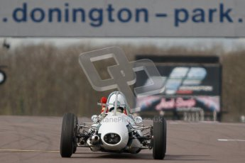 © Octane Photographic Ltd. HSCC Donington Park 17th March 2012. Historic Formula Junior Championship (Rear engine).. Digital ref : 0243cb1d7602