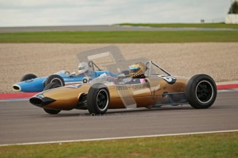 © Octane Photographic Ltd. HSCC Donington Park 17th March 2012. Historic Formula Junior Championship (Rear engine).. Simon Diffey - Lotus 20. Digital ref : 0243cb1d7672