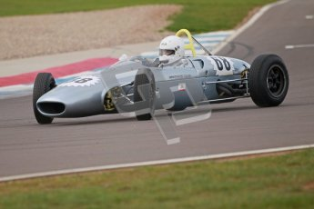 © Octane Photographic Ltd. HSCC Donington Park 17th March 2012. Historic Formula Junior Championship (Rear engine).. James Murray - Lola Mk5A. Digital ref : 0243cb1d7681