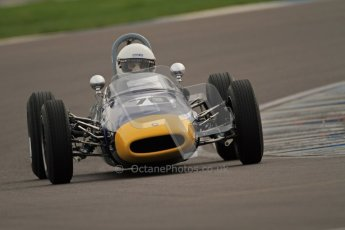 © Octane Photographic Ltd. HSCC Donington Park 17th March 2012. Historic Formula Junior Championship (Rear engine).. David Methley - Brabham BT6. Digital ref : 0243cb7d4529