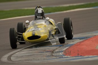 © Octane Photographic Ltd. HSCC Donington Park 17th March 2012. Historic Formula Junior Championship (Rear engine).. Rudolf Ernst - Lotus 22. Digital ref : 0243cb7d4533