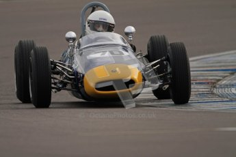 © Octane Photographic Ltd. HSCC Donington Park 17th March 2012. Historic Formula Junior Championship (Rear engine).. David Methley - Brabham BT6. Digital ref : 0243cb7d4592