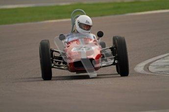 © Octane Photographic Ltd. HSCC Donington Park 17th March 2012. Historic Formula Junior Championship (Rear engine).. Charles Cook - Envoy. Digital ref : 0243cb7d4637