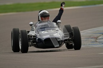 © Octane Photographic Ltd. HSCC Donington Park 17th March 2012. Historic Formula Junior Championship (Rear engine).. Andrew Robertson - Crossle 4F. Digital ref : 0243cb7d4645