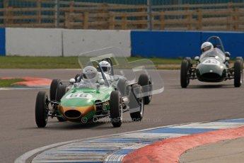 © Octane Photographic Ltd. HSCC Donington Park 17th March 2012. Historic Formula Junior Championship (Rear engine).. Alex Morton - Ausper T3. Digital ref : 0243lw7d6740