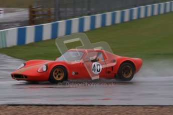 © Octane Photographic Ltd. HSCC Donington Park 18th May 2012. Guards Trophy for Sport Racing Cars. Ted Williams & Mark Williams - Chevron B8. Digital ref : 0247lw7d8931