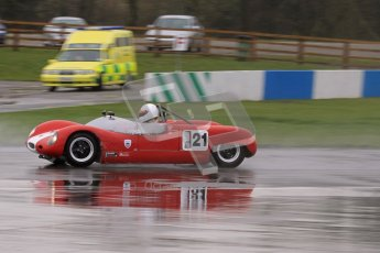 © Octane Photographic Ltd. HSCC Donington Park 18th May 2012. Guards Trophy for Sport Racing Cars. Peter Alexander - Merlyn Mk6. Digital ref : 0247lw7d9004