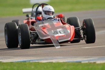 © Octane Photographic Ltd. HSCC Donington Park 17th March 2012. Historic Formula Ford 2000 Championship. John Bowles - Royale RP9. Digital ref : 0251cb7d6462