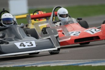 © Octane Photographic Ltd. HSCC Donington Park 17th March 2012. Historic Formula Ford 2000 Championship. Jan Langdon - Reynard SF78 & Andrew Storer - Royale RP27. Digital ref : 0251cb7d6562