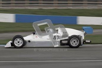 © Octane Photographic Ltd. HSCC Donington Park 17th March 2012. Historic Formula Ford 2000 Championship. jon Randall - Lola Supervee.   Digital ref : 0251lw7d1195