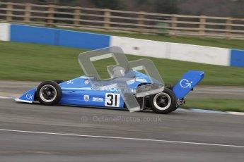 © Octane Photographic Ltd. HSCC Donington Park 17th March 2012. Historic Formula Ford 2000 Championship. Derek Watling - Reynard SF79. Digital ref : 0251lw7d1276