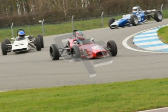 © Octane Photographic Ltd. HSCC Donington Park 17th March 2012. Historic Formula Ford Championship. Brian Morris - Macon MR7. Digital ref : 0240cb1d6593