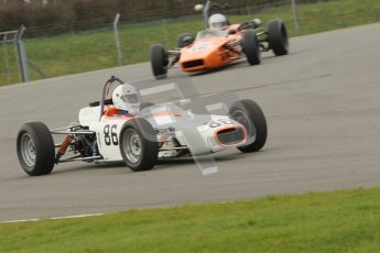 © Octane Photographic Ltd. HSCC Donington Park 17th March 2012. Historic Formula Ford Championship. Alan Fairbrother - Merlyn Mk20. Digital ref : 0240cb1d6608