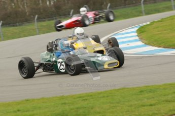 © Octane Photographic Ltd. HSCC Donington Park 17th March 2012. Historic Formula Ford Championship. Philip Walker - Crossle 16F Digital ref : 0240cb1d6628