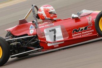 © Octane Photographic Ltd. HSCC Donington Park 17th March 2012. Historic Formula Ford Championship. Derek Rodgers - Merlyn Mk11A/17. Digital ref : 0240cb1d6667