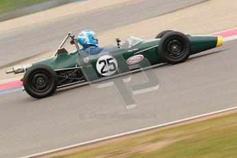 © Octane Photographic Ltd. HSCC Donington Park 17th March 2012. Historic Formula Ford Championship. Philip Walker - Crossle 16F. Digital ref : 0240cb1d6675