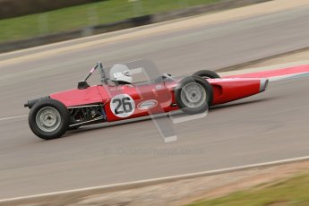 © Octane Photographic Ltd. HSCC Donington Park 17th March 2012. Historic Formula Ford Championship. John Slack - Lola T200. Digital ref : 0240cb1d6755