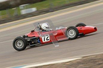 © Octane Photographic Ltd. HSCC Donington Park 17th March 2012. Historic Formula Ford Championship. Alister Littlewood - Merlyn MK20A. Digital ref : 0240cb1d6774