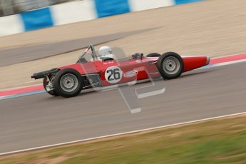 © Octane Photographic Ltd. HSCC Donington Park 17th March 2012. Historic Formula Ford Championship. John Slack - Lola T200. Digital ref : 0240cb1d6844