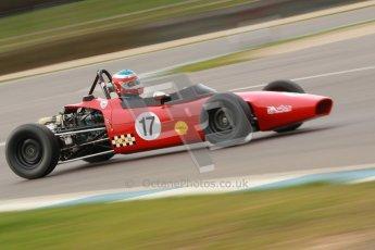 © Octane Photographic Ltd. HSCC Donington Park 17th March 2012. Historic Formula Ford Championship. Brian Morris - Macon MR7. Digital ref : 0240cb1d6938