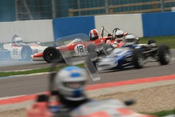 © Octane Photographic Ltd. HSCC Donington Park 17th March 2012. Historic Formula Ford Championship. Stuart Dix - Cooper Chinook. Digital ref : 0240cb7d3740