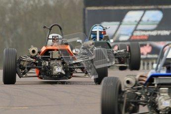 © Octane Photographic Ltd. HSCC Donington Park 17th March 2012. Historic Formula Ford Championship. Digital ref : 0240cb7d3827
