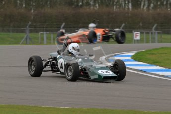 © Octane Photographic Ltd. HSCC Donington Park 17th March 2012. Historic Formula Ford Championship. Andrew MacGregor - Hawke DL2B. Digital ref : 0240lw7d4288
