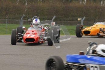 © Octane Photographic Ltd. HSCC Donington Park 17th March 2012. Historic Formula Ford Championship. Alistair Littlewood - Merlyn Mk20. Digital ref : 0240lw7d4307