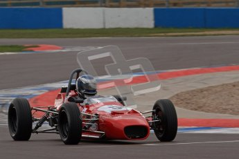 © Octane Photographic Ltd. HSCC Donington Park 17th March 2012. Historic Formula Ford Championship. John Murphy - .Merlyn Mk20A Digital ref : 0240lw7d4331