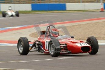© Octane Photographic Ltd. HSCC Donington Park 17th March 2012. Historic Formula Ford Championship. Diogo Ferrao - Merlyn Mk20. Digital ref : 0240lw7d4434