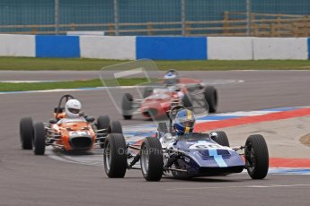 © Octane Photographic Ltd. HSCC Donington Park 17th March 2012. Historic Formula Ford Championship. Digital ref : 0240lw7d4446