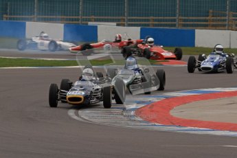 © Octane Photographic Ltd. HSCC Donington Park 17th March 2012. Historic Formula Ford Championship. Roger Arnold - Merlyn Mk20. Digital ref : 0240lw7d4495