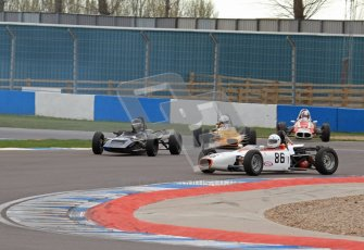 © Octane Photographic Ltd. HSCC Donington Park 17th March 2012. Historic Formula Ford Championship. Alan Fairbrother - Merlyn Mk20. Digital ref : 0240lw7d4515