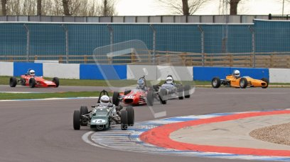 © Octane Photographic Ltd. HSCC Donington Park 17th March 2012. Historic Formula Ford Championship. Andrew MacGregor - Hawke DL2B. Digital ref : 0240lw7d4646
