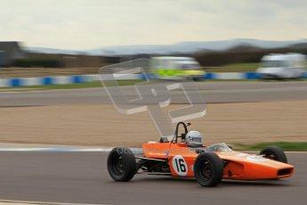 © Octane Photographic Ltd. HSCC Donington Park 17th March 2012. Historic Formula Ford Championship. Simon Toyne - Lola T200. Digital ref : 0240lw7d4740
