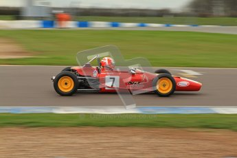 © Octane Photographic Ltd. HSCC Donington Park 17th March 2012. Historic Formula Ford Championship. Derek Rodger - Merlyn Mk11A/17. Digital ref : 0240lw7d4820