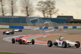 © Octane Photographic Ltd. HSCC Donington Park 17th March 2012. Historic Formula Ford Championship. Alan Fairbrother - Merlyn Mk20. Digital ref : 0240lw7d4851