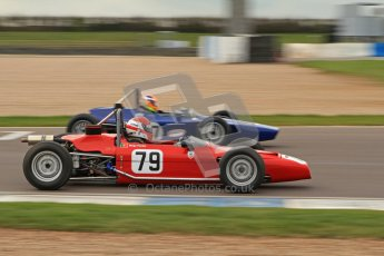 © Octane Photographic Ltd. HSCC Donington Park 17th March 2012. Historic Formula Ford Championship. Diogo Ferrao - Merlyn Mk20. Digital ref : 0240lw7d4955