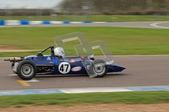 © Octane Photographic Ltd. HSCC Donington Park 17th March 2012. Historic Formula Ford Championship. Louis Hanjoul - Elden Mk8/10. Digital ref : 0240lw7d4980
